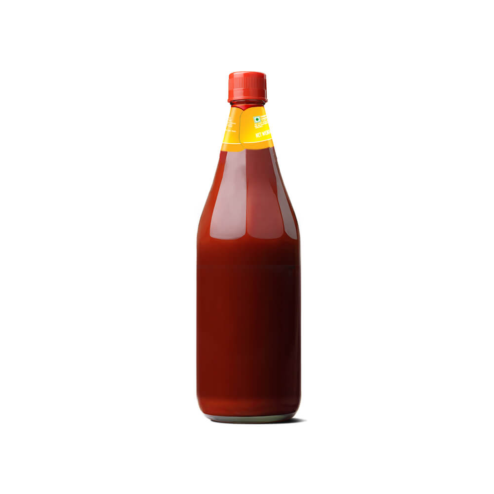 Kissan Twist Sweet Spicy Tomato Ketchup 1kg 3