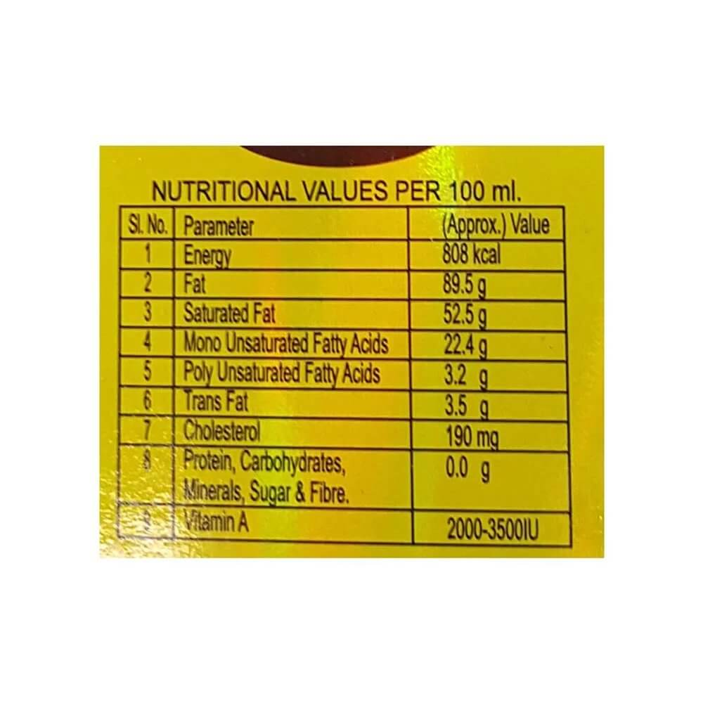 Milkfood Pure Ghee Tetra Pak 500ml 2