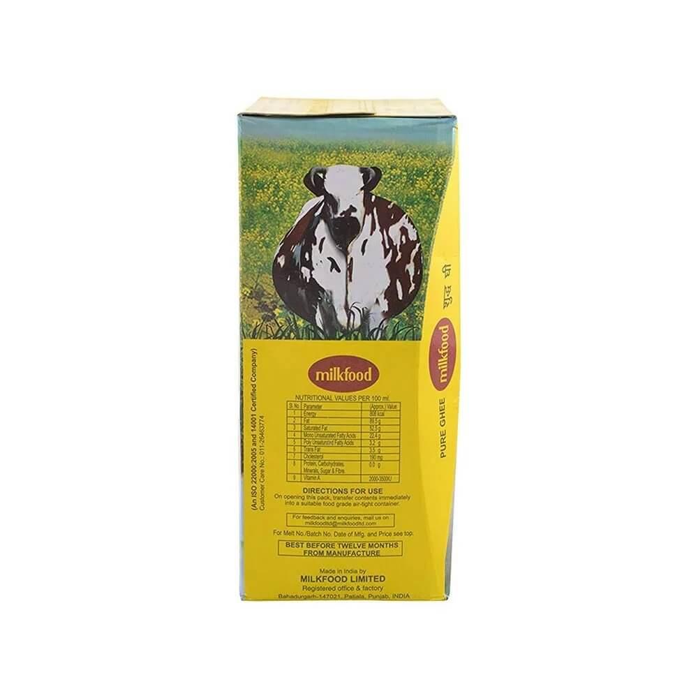 Milkfood Pure Ghee Tetra Pak 500ml 3