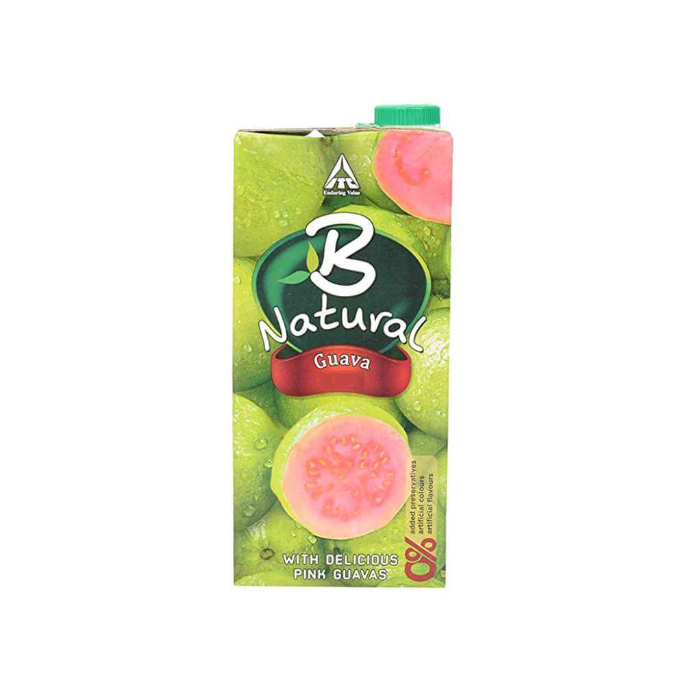 B Natural Guava Juice 1 ltr 2