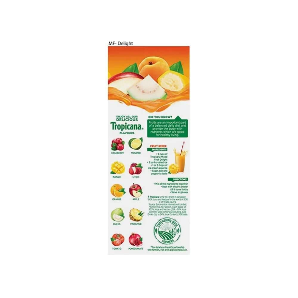 Tropicana Mixed Fruit Delight Juice 200ml 2