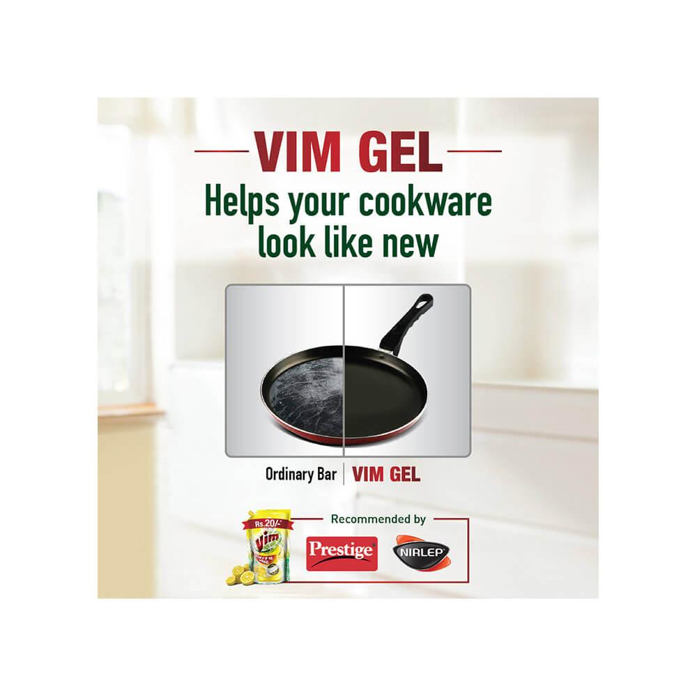 Vim Lemon Dishwash Gel 250 ml 4