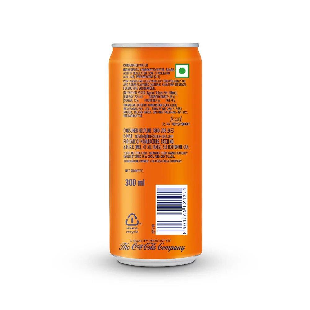 Fanta Soft Drink Can 300ml 2