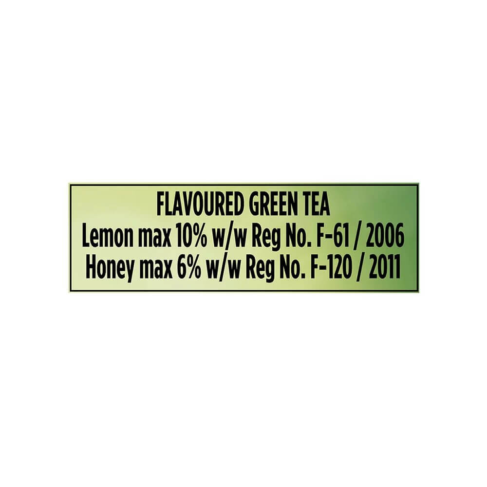 Lipton Honey Lemon Green Tea Bags 25p 4