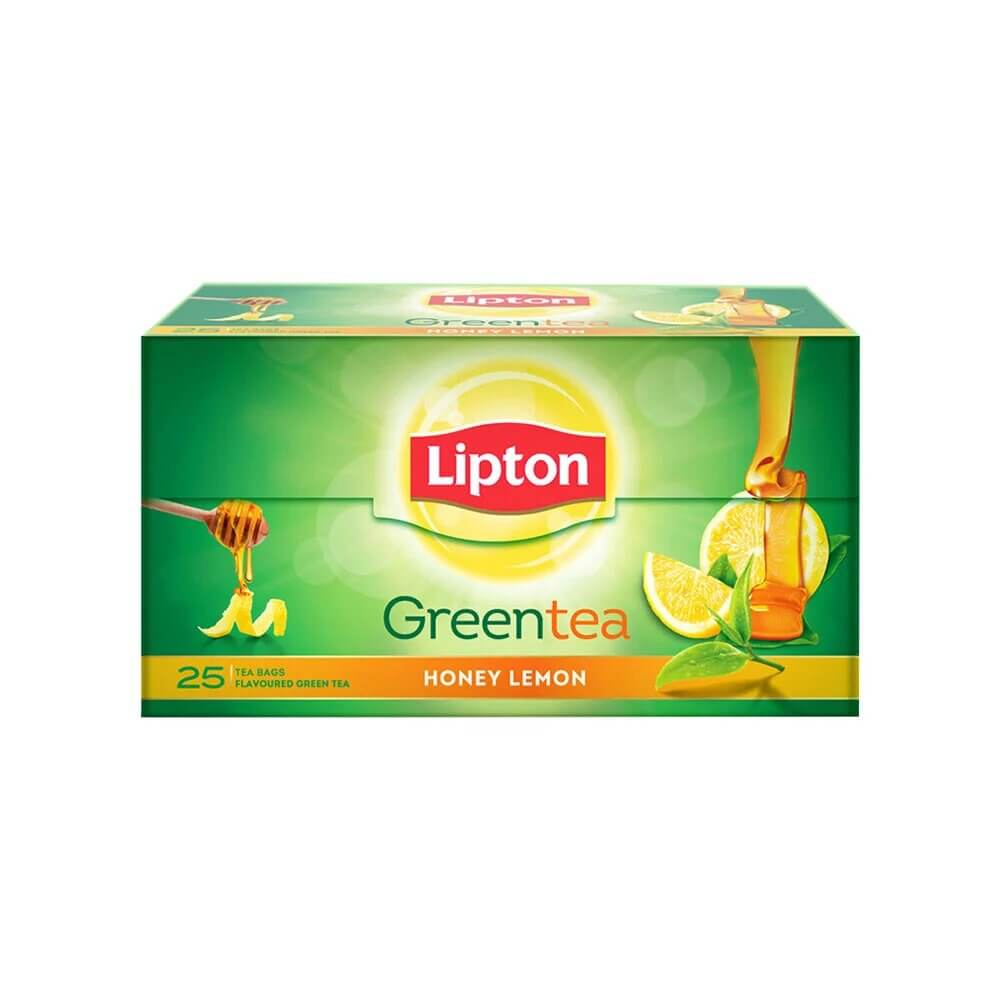 Lipton Honey Lemon Green Tea Bags 25p