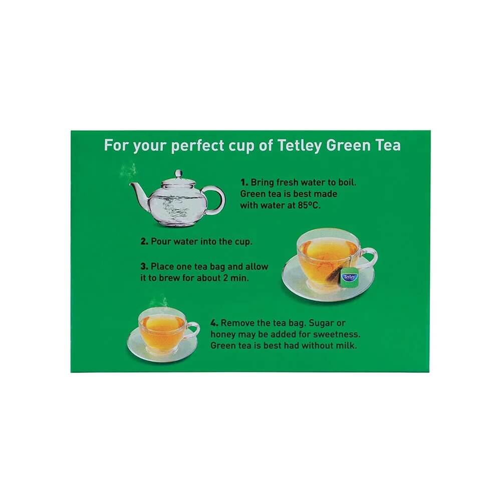 Tetley Ginger Mint Lemon Green Tea Bags 25p 3