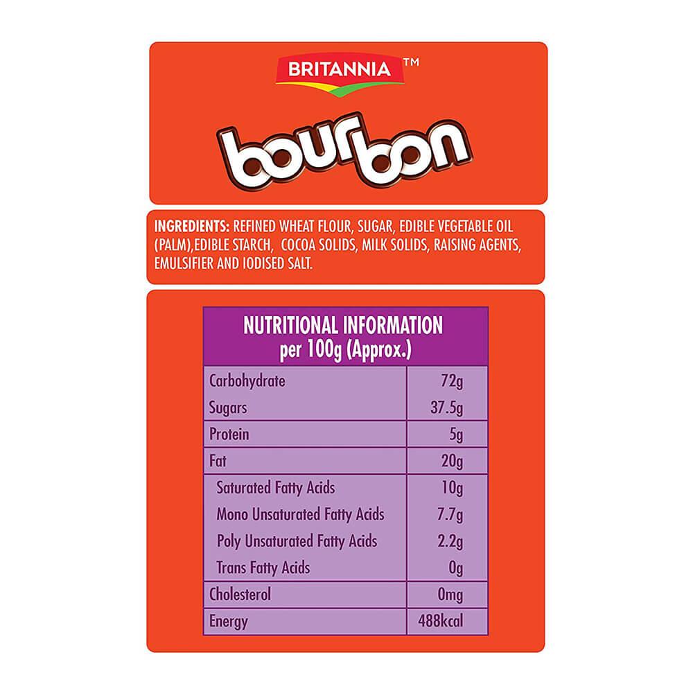 Britannia Bourbon The Original Biscuit 150g 2