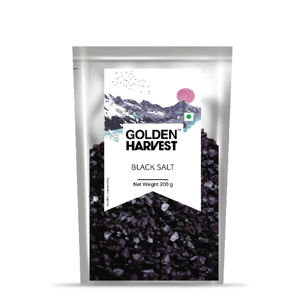 Golden Harvest Black Salt 200g