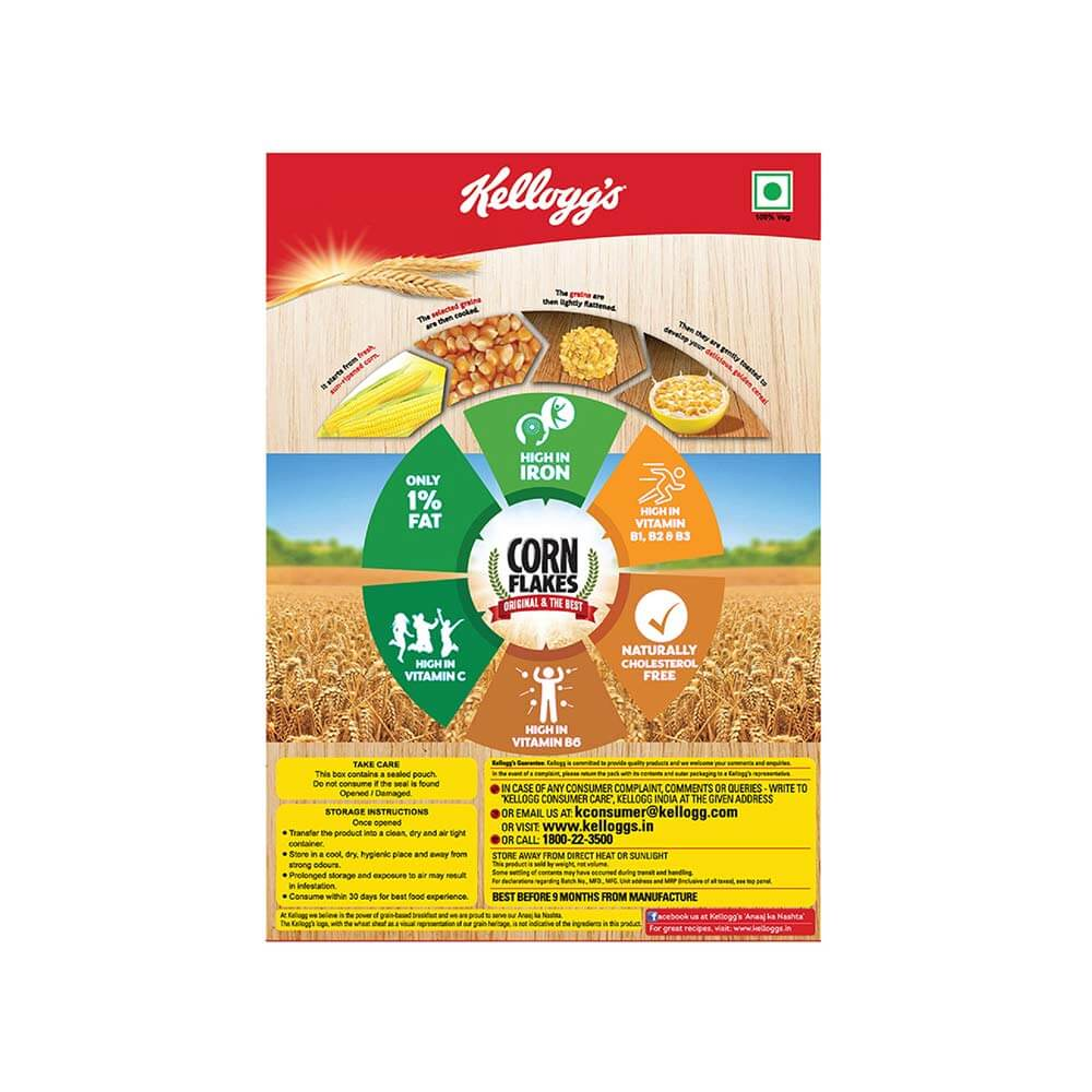 Kelloggs Original the Best Corn Flakes 250g 4