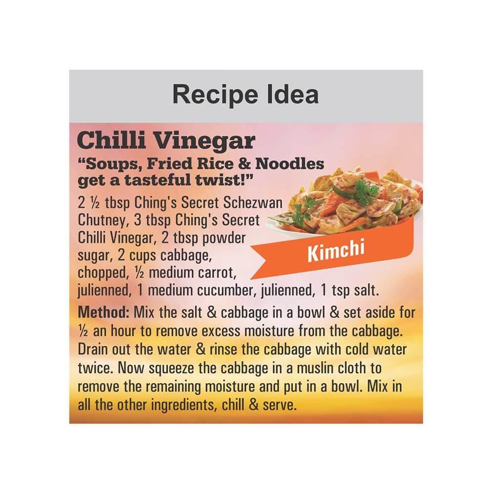 Chings Secret Chilli Vinegar 170ml 4